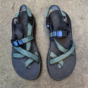 Chaco blue sandals size 8.